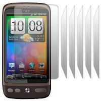 HTC DESIRE SCREEN PROTECTOR PACK 6 FROM TERRAPIN (T68)