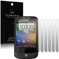 HTC WILDFIRE SCREEN PROTECTOR - PACK OF 6 FROM TERRAPIN (T64)