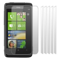 HTC 7 TROPHY SCREEN PROTECTOR - PACK OF 6 (SLAT)