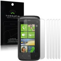 HTC 7 MOZART SCREEN PROTECTOR - PACK OF 6 FROM TERRAPIN (S69)