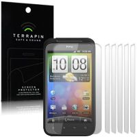 HTC INCREDIBLE S SCREEN PROTECTOR - PACK OF 6 FROM TERRAPIN (S142)