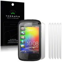 HTC EXPLORER SCREEN PROTECTOR 6-IN-1 BY TERRAPIN (S14)