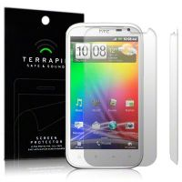 HTC SENSATION XL SCREEN PROTECTOR 2-IN-1 BY TERRAPIN (S70)