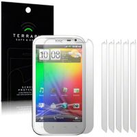 HTC SENSATION XL SCREEN PROTECTOR 6-IN-1 BY TERRAPIN (S64)