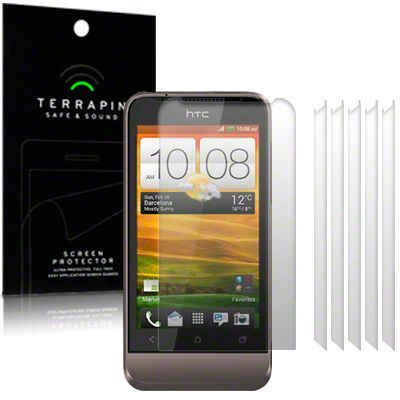 HTC ONE V SCREEN PROTECTOR 6-IN-1 BY TERRAPIN (A108). Price  = �6.00